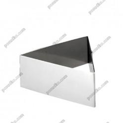 Кільце гарнірне Форма для формовки та випічки трикутна 80 мм, h-45 мм (Ibili)