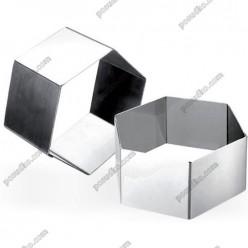 Кільце гарнірне Форма для формовки та випічки трикутна 100 мм, h-45 мм (Ibili)