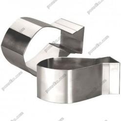 Кільце гарнірне Форма для формовки та випічки рибка 120 х70 мм, h-45 мм (Ibili)