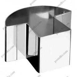 Кільце гарнірне Форма для формовки та випічки грибок 80 х70 мм, h-45 мм (Ibili)