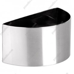 Кільце гарнірне Форма для формовки та випічки півколо 80 х40 мм, h-45 мм (Ibili)