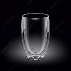 Wilmax thermo Склянка з подвійною стінкою висока 400 мл (Wilmax)