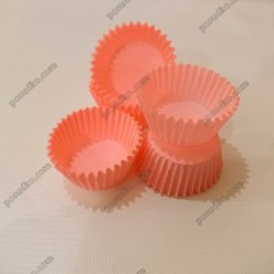 Тарталетка Форма паперова для випічки кругла рожева d-35 мм, h-20 мм (Україна)