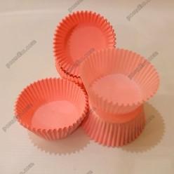 Тарталетка Форма паперова для випічки кругла рожева d-50 мм, h-30 мм (Україна)
