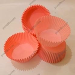 Тарталетка Форма паперова для випічки кругла рожева d-55 мм, h-35 мм (Україна)