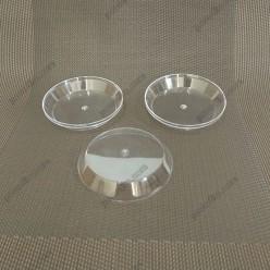 Appetizers Піала фуршетна кругла низька прозора d-70 мм, h-12 мм 50 мл (Україна)