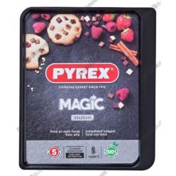 Pyrex mag steel n-st Форма для запікання та випічки прямокутна 330 х250 мм (Pyrex, ARC international)