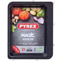 Pyrex mag steel n-st Форма для запікання та випічки прямокутна 260 х190 мм (Pyrex, ARC international)