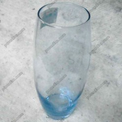 Flora Ваза для квітів бочка Enjoy блакитна d-110 мм, h-260 мм (Pasabahce)