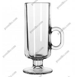 Irish glass Чашка на ніжці ручка на чаші Warm beverage d-60 мм, h-160 мм 235 мл (Libbey)