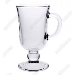 Irish glass Чашка на ніжці ручка на чаші Глінтвейн d-76 мм, h-140 мм 200 мл (Luminarc, ОСЗ)