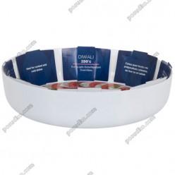 Diwali Форма для запікання та випічки кругла біла d-300 мм, h-70 мм 4,5 л (Luminarc, France)