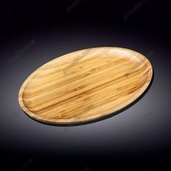 Wilmax bamboo Блюдо овальне без поля 355 х245 мм (Wilmax)