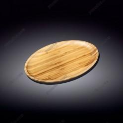 Wilmax bamboo Блюдо овальне без поля 305 х205 мм (Wilmax)