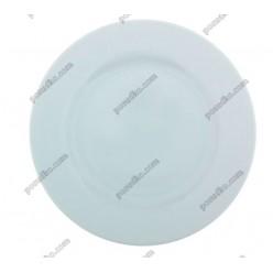 Еко Тарілка кругла мілка d-200 мм (Добруш фарфор, Білорусь)