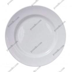 Еко Тарілка кругла мілка d-265 мм (Добруш фарфор, Білорусь)