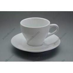 Alt porcelain Чашка для кави з блюдцем 150 мл (Alt porcelain)