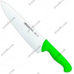 2900 Ніж кухарський, шеф зелена ручка L-385 мм (Arcos)