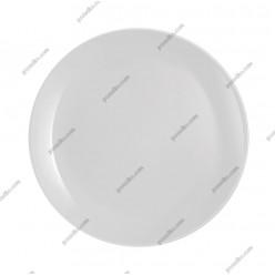 Diwali Тарілка кругла без поля мілка сіра d-190 мм (Luminarc, France)