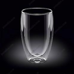 Wilmax thermo Склянка з подвійною стінкою висока 500 мл (Wilmax)