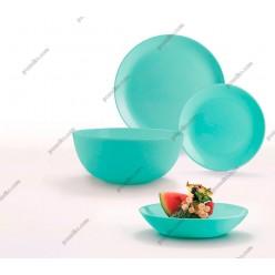 Diwali Тарілка кругла глибока миска салатова d-200 мм, h-43 мм 700 мл (Luminarc, France)