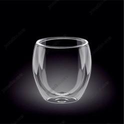 Wilmax thermo Склянка з подвійною стінкою низька 400 мл (Wilmax)