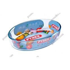Pyrex essentials Форма для запікання та випічки овальна 260 х180 мм, h-60 мм 1,6 л (Pyrex, ARC international)