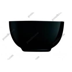 Diwali Салатник круглий чорний d-145 мм, h-80 мм 750 мл (Luminarc, France)