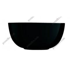 Diwali Салатник круглий чорний d-210 мм, h-95 мм 2,3 л (Luminarc, France)