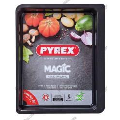 Pyrex mag steel n-st Форма для запікання та випічки прямокутна 400 х300 мм (Pyrex, ARC international)