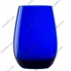 Elements Склянка висока синя d-80 мм, h-122 мм 465 мл (Stoelzle)