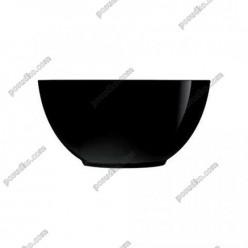Diwali Салатник круглий чорний d-120 мм, h-55 мм 400 мл (Luminarc, France)