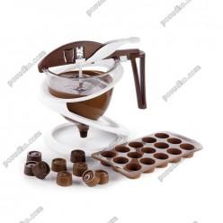 Confectioners Дозатор кондитерський d-130 мм, h-140 мм (Silikomart)