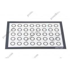 Fiberglass Лист для випічки з розміткою 600 х400 мм (Silikomart)