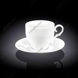 Wilmax Чашка для кави з блюдцем 170 мл (Wilmax)