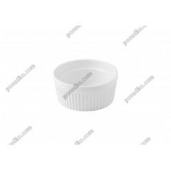Alt porcelain Форма для запікання та подачі кругла 250 мл (Alt porcelain)