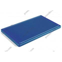 Resto line 20 Дошка розробна з жолобом синя 500 х400х20 мм (FoREST)