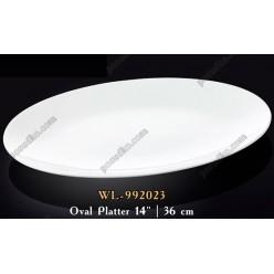 Wilmax Блюдо овальне без поля 360 х240 мм (Wilmax)