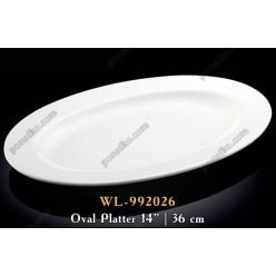 Wilmax Блюдо овальне L-360 мм (Wilmax)