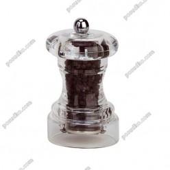 Perugia Млинок для перцю прозорий h-100 мм (Bisetti)