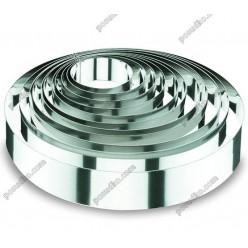 Кільце гарнірне Форма для формовки та випічки кругла d-200 мм, h-40 мм 1,2 л (Lacor)