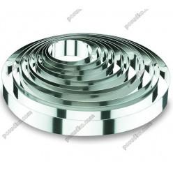 Кільце гарнірне Форма для формовки та випічки кругла d-180 мм, h-45 мм 1,1 л (Lacor)