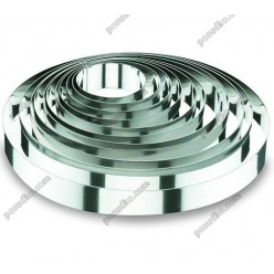 Кільце гарнірне Форма для формовки та випічки кругла d-220 мм, h-45 мм 1,7 л (Lacor)