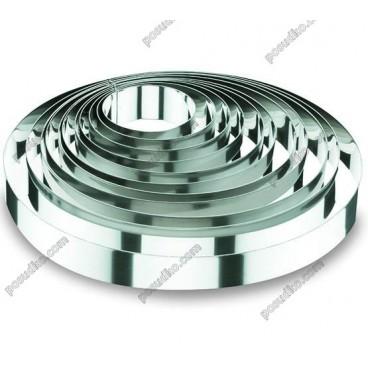 Кільце гарнірне Форма для формовки та випічки кругла d-240 мм, h-45 мм 2,0 л (Lacor)