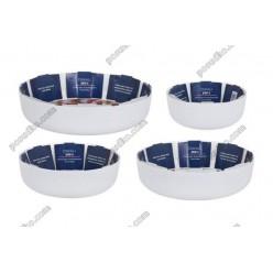 Diwali Форма для запікання та випічки кругла біла d-220 мм, h-70 мм 1,7 л (Luminarc, France)