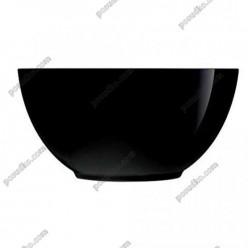 Diwali Салатник круглий чорний d-180 мм, h-75 мм 1,0 л (Luminarc, France)