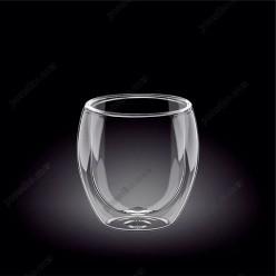 Wilmax thermo Склянка з подвійною стінкою низька 300 мл (Wilmax)