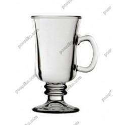 Irish glass Чашка на ніжці ручка на чаші 225 мл (Uniglass)