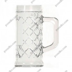 Rhombus Кухоль для пива 300 мл (EverGlass)