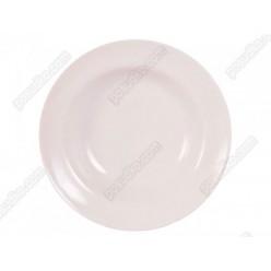 Еко Тарілка кругла глибока класична d-240 мм 650 мл (Добруш фарфор, Білорусь)